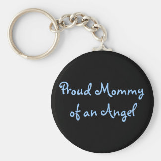 Proud Mommy of an Angel Keychain
