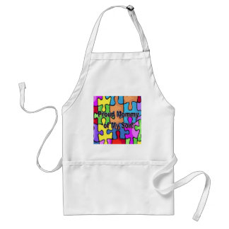 Proud Mommy of My Son Adult Apron