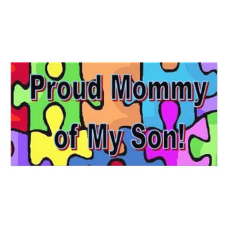 Proud Mommy of My Son Card