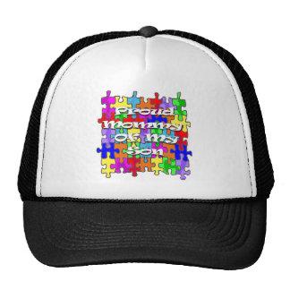 Proud Mommy Of My Son Trucker Hat