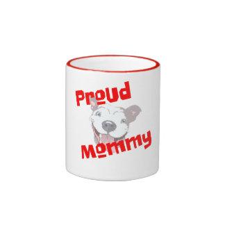 proud mommy pet lover pet owner mug design