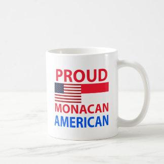 Proud Monacan American Coffee Mug