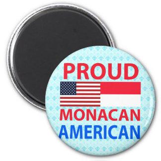 Proud Monacan American Fridge Magnets
