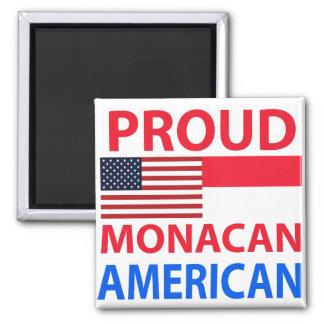 Proud Monacan American Fridge Magnet