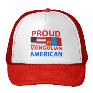 Proud Mongolian American Mesh Hat