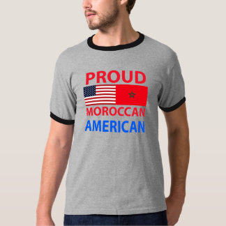Proud Moroccan American T-Shirt