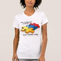 Proud Mother Autistic Child T-Shirt