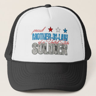 Proud Mother in Law of a United States Soldier Trucker Hat