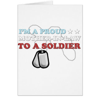 Proud Mother-in-Law to a Soldier Card