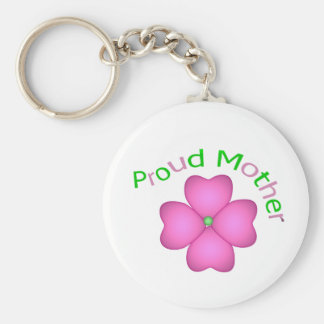 Proud Mother Keychain