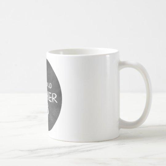 proud mother of 3 coffee mug