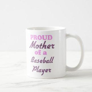 Proud Mother of a Baseball Player Classic White Coffee Mug