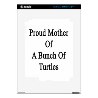 Proud Mother Of A Bunch Of Turtles Decals For iPad 3