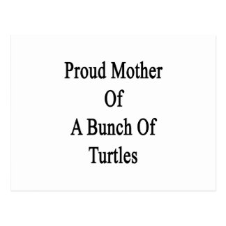 Proud Mother Of A Bunch Of Turtles Postcard