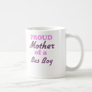 Proud Mother of a Bus Boy Classic White Coffee Mug