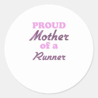 Proud Mother of a Runner Sticker
