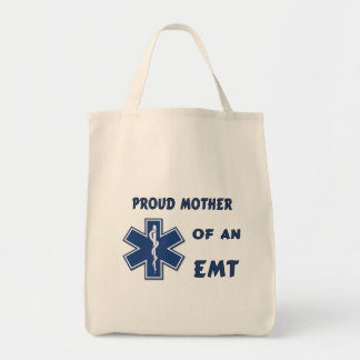 Proud Mother Of An EMT Canvas Bag
