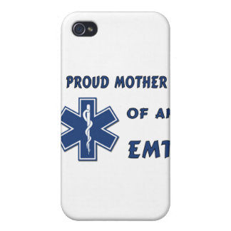 Proud Mother Of An EMT iPhone 4/4S Cover