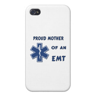 Proud Mother Of An EMT iPhone 4/4S Covers