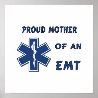 Proud Mother Of An EMT Print