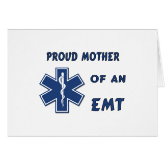Proud Mother Of An EMT Stationery Note Card