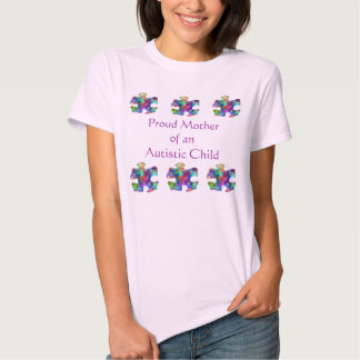 Proud Mother of Autistic Child Shirt