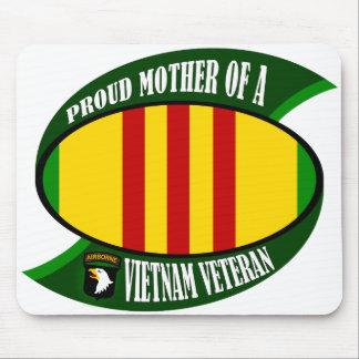 Proud Mother Vietnam Veteran Mouse Pad