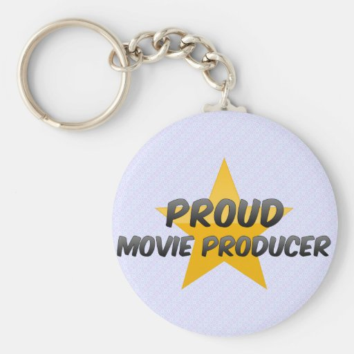 Proud Movie Producer Keychain