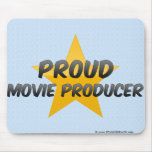 Proud Movie Producer Mousepads