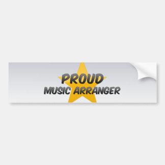 Proud Music Arranger Bumper Sticker