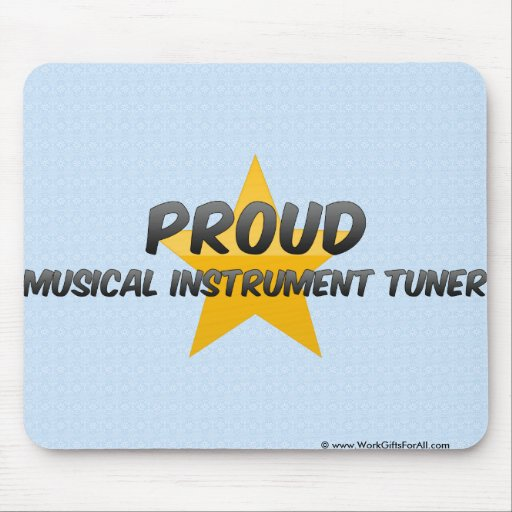 Proud Musical Instrument Tuner Mousepads