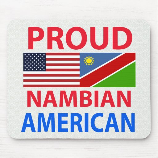 Proud Nambian American Mouse Pads