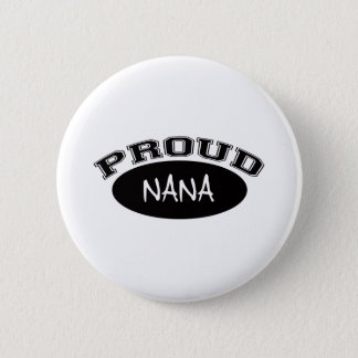 Proud Nana (Black) Button