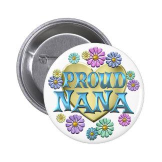 Proud Nana Pinback Button