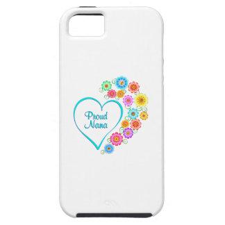 Proud Nana Heart iPhone SE/5/5s Case