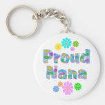 Proud Nana Key Chains