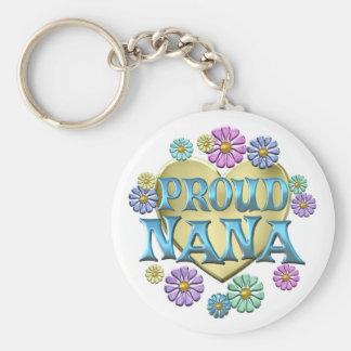 Proud Nana Key Chain