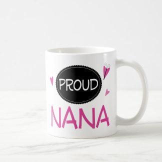 Proud Nana Classic White Coffee Mug