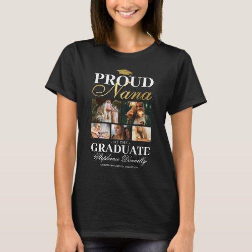 Proud Nana of the Graduate T_Shirt