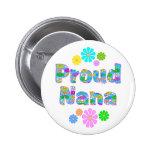 Proud Nana Pinback Buttons
