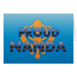 Proud Nanda, Nanda pride Greeting Card