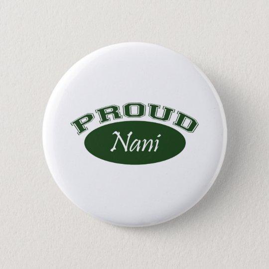 Proud Nani (Green) Button