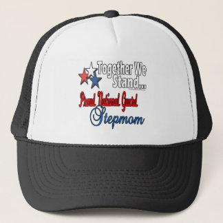 Proud National Guard Stepmom Trucker Hat