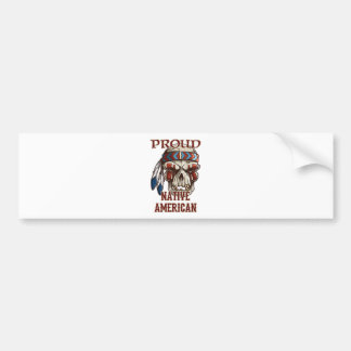 Proud Native American Bumper Sticker