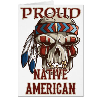 Proud Native American Card