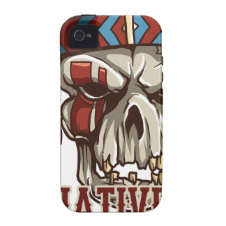 Proud Native American Vibe iPhone 4 Cover
