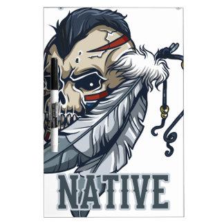 Proud Native American Dry Erase Board