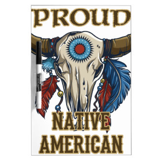 Proud Native American Dry-Erase Boards