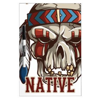 Proud Native American Dry Erase Whiteboard