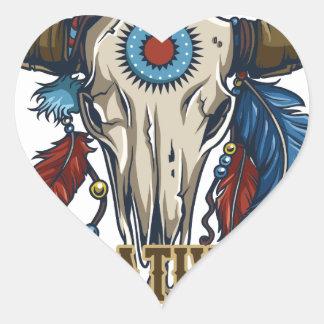 Proud Native American Heart Sticker